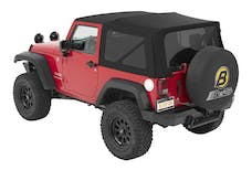 Bestop 54822-17 Jeep Wrangler JK Supertop Soft Top