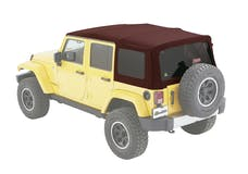 Bestop 54823-68 Jeep Wrangler JKU Supertop Soft Top