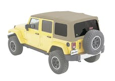 Bestop 54823-74 Jeep Wrangler JKU Supertop Soft Top