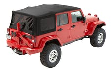 Bestop 54823-17 Jeep Wrangler JKU Supertop Soft Top