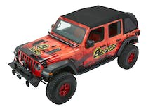 Bestop 54925-17 Trektop Ultra Soft Top, Jeep 4-Door