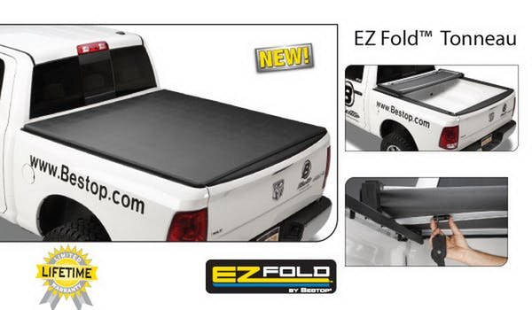 Bestop 14036-01 EZ-Fold Hard Trifold Tonneau Cover