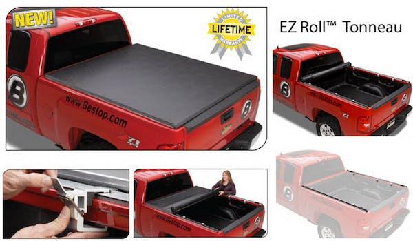 Bestop 19175-01 EZ-Roll Soft Tonneau Cover