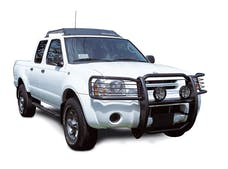 Big Country Truck Accessories 500545 BIG COUNTRY Euroguard. Grill/brush guard. Brackets included. Black powder coat