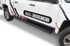 "Big Country Truck Accessories 397870 6"" WIDESIDER Platinum II Bars - 87"" Long - Textured Black - Bars Only"