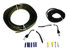 Blue Ox BX88267 TAIL LIGHT WIRING KIT; RED LED BULB