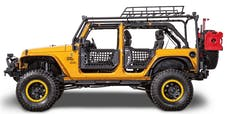Body Armor JK-6124-2 Roof Rack side and cross tubes; JK unlimited only