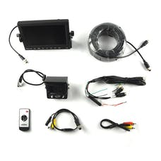 Brandmotion 9002-7701 Commercial Grade Heavy Duty Rear Vision Camera Kit