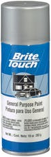 Brite Touch BT53 Auto And General Purpose Paint; Aluminum; 10 oz. Aerosol