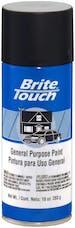 Brite Touch BT55 Auto And General Purpose Paint; Semi-Gloss Black; 10 oz. Aerosol