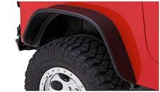 Bushwacker 10100-07 Flat Style Jeep Fender Flares, 2pc