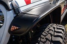 Bushwacker 10928-07 Flat Style Jeep Fender Flares, 4pc