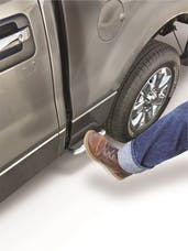 Carr 173014 Tool Box Flip Step 10-Titanium Silver Powder Coat-Single-Driver