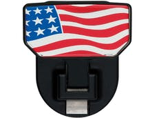Carr 183032 HD Universal Hitch Step American Flag-single