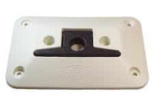 Cipa 02101 Dock Cleat - Provides the convenience of a dock cleat without the stubbed toes