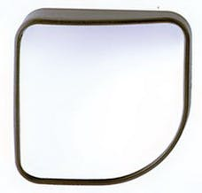 Cipa 49404 Wedge HotSpot Mirror - 2 X 2 Convex mirror with stick-on mounting