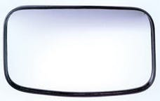 Cipa 49504 4 x 8 Clamp-On Convex HotSpot Mirror Reduces blind spots for safer driving