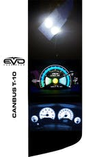 Cipa 93140 EVO Formance T-10 LED Bulbs With Canbus- White
