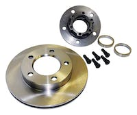 Crown Automotive J5358568 Hub And Rotor Assembly