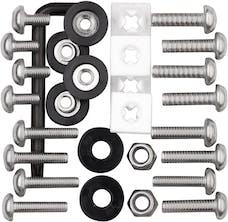 Cruiser Accessories 81500 Locking Fasteners Kit (Standard/Metric)