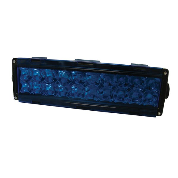 CSI Accessories W4931 6in. Blue Single Row Light Cover