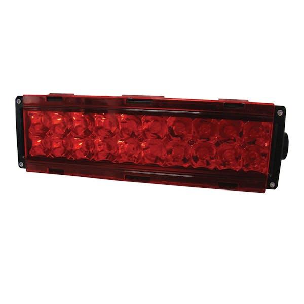 CSI Accessories W4932 6in. Red Single Row Light Cover
