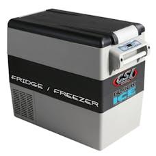 CSI Accessories W52 Black Ice 52 Quart Fridge/Freezer