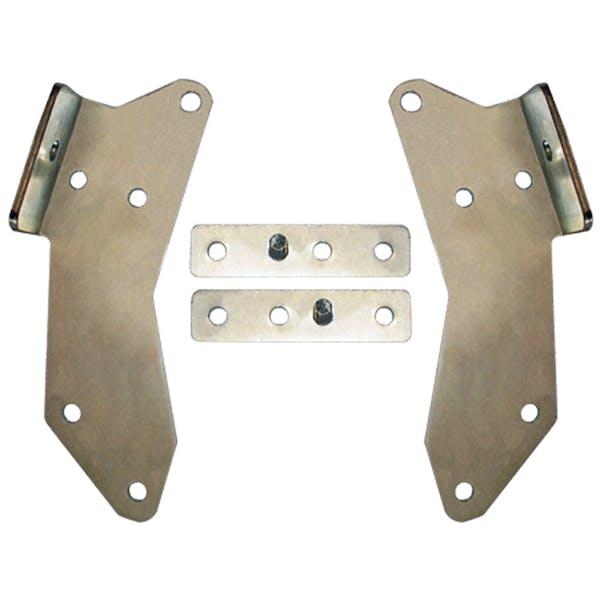 Daystar PA10003 Heavy Duty Laser Cut Bumper Brackets