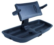 Daystar KJ71057BK Upper Dash Panel w/Large I Phone & I Phone Plus; Mini Pad; Cradle; Black