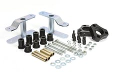 """Daystar KN09105BK Suspension Lift 2"""" Front Strut Spacers & Rear Greasable Shackles"""