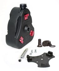 Daystar KT71001BK 07-14 FJ Cruiser Cam Can Black Complete Kit Non-Flammable Liquids Includes Spout