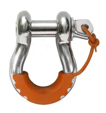 Daystar KU70058AG Locking D-Ring Isolator, Orange