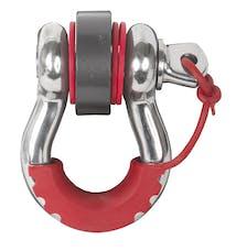 Daystar KU70058RE Locking D-Ring Isolator, Red