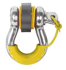 Daystar KU70058YL Locking D Ring Isolators, Yellow (Pair)
