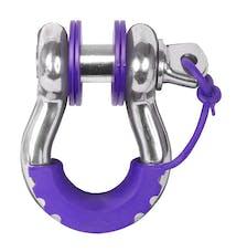 Daystar KU70060PR D-Ring & Locking Washer Set, 2 locking, 6 non-locking, Purple
