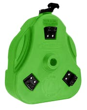 Daystar KU71131BG Cam Can Trail Box; Bright Green (Cam Can Only)