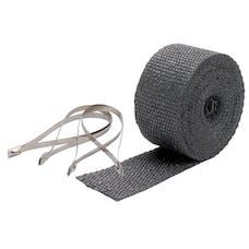 Design Engineering, Inc. 010119 Pipe Wrap/Ties Kit 2in. x 25 ft-BLACK