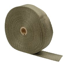 "Design Engineering, Inc. 010133 Titanium Exhaust Wrap 1"" x 100ft"