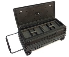 "DU-HA 70600 Squad Box ??"" Interior / Exterior Portable Storage / Gun Case with Manual Latch"