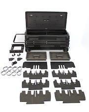 "DU-HA 70670 Squad Box ??"" Interior / Exterior Portable Storage / Gun Case with Manual Latch"