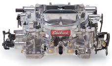 Edelbrock 1825 Thunder Series AVS 650 CFM Off-Road Carb with Manual Choke in Satin (non-EGR)