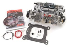 Edelbrock 1826 CARB THUN 650 CFM AVS OFF ROAD ELECTRIC SATIN