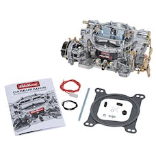 Edelbrock 1903 CARBURETOR AVS2 DUAL QUAD ANNULAR BOOSTERS 500 CFM (ELECTRIC CHOKE)