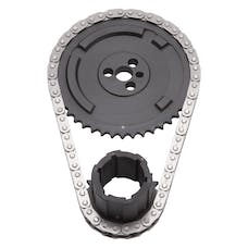 Edelbrock 7338 RPM-Link Adjustable True-Roller Timing Chain Set