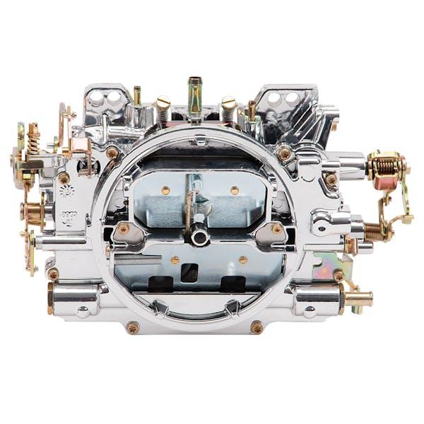Edelbrock 19054 (WSL) AVS2 650 CFM Carburetor with Manual Choke in EnduraShine (non-EGR)