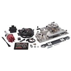 Edelbrock 35760 Pro Flo 4 Fuel Injection Kit, Satin Finish