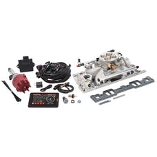 Edelbrock 35780 Pro Flo 4 Fuel Injection Kit, Satin Finish