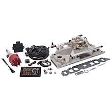 Edelbrock 35830 Pro Flo 4 Fuel Injection Kit, Satin Finish