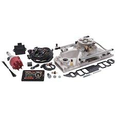 Edelbrock 35850 Pro Flo 4 Fuel Injection Kit, Satin Finish