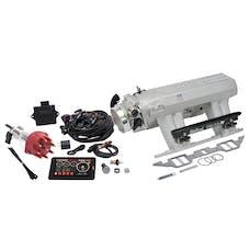 Edelbrock 35920 Pro Flo 4 Fuel Injection Kit, Satin Finish
